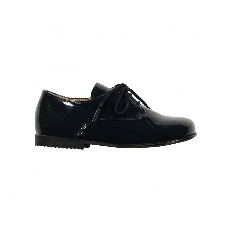 Patent Leather Navy Shoes
