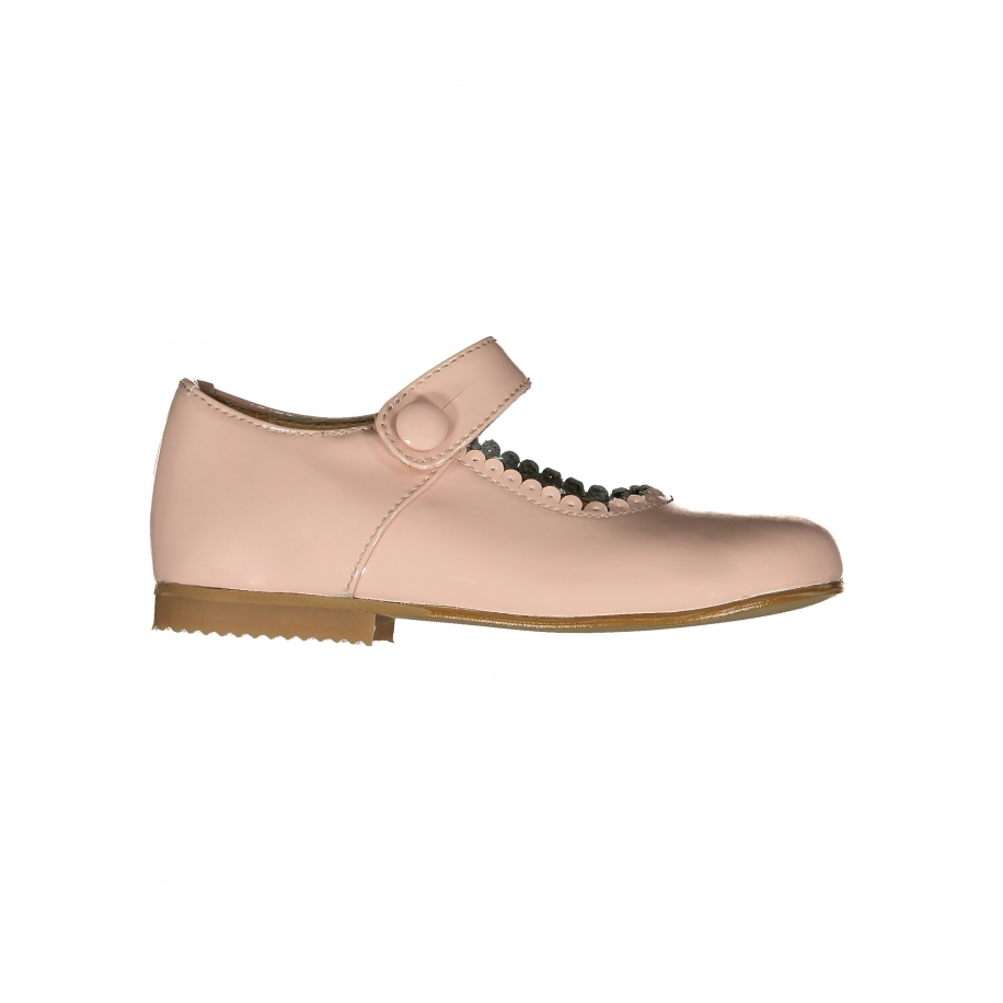 Patent Leather Pink Mary Janes