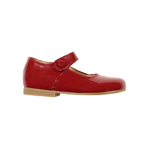 Patent Leather Red Mary Janes