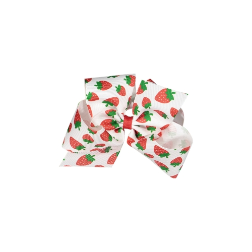 Strawberries XL Bow