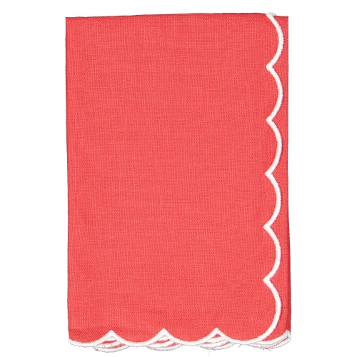 Christmas Linen Set of Two Napkins