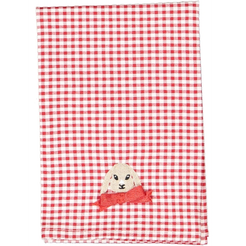 Christmas Gingham Set of Two Napkins