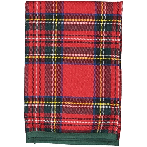 Christmas Tartan Set of Two Napkins