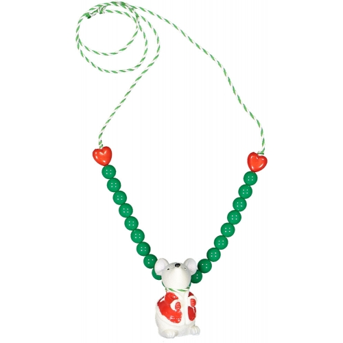 Christmas Necklace Mouse