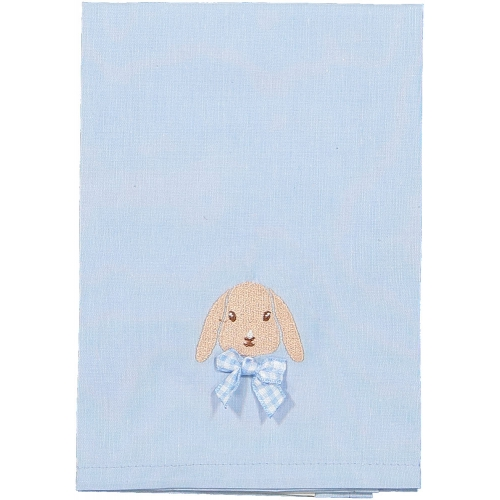 Caramel the Bunny Blue Set of Two Napkins