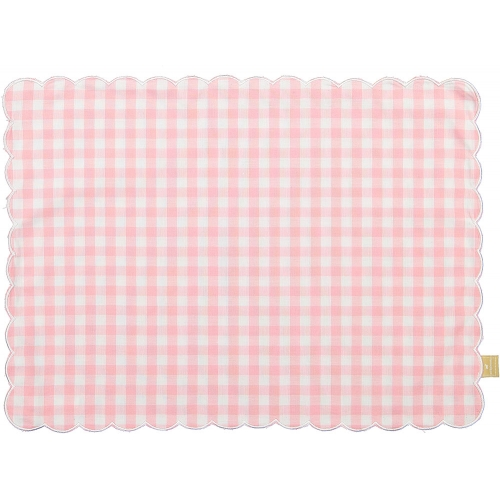 Caramel the Bunny Pink Set of Two Placemats