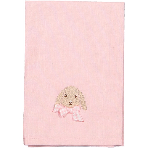Caramel the Bunny Pink Set of Two Napkins