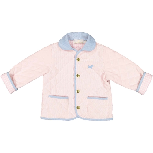 Pink Quilted Jacket